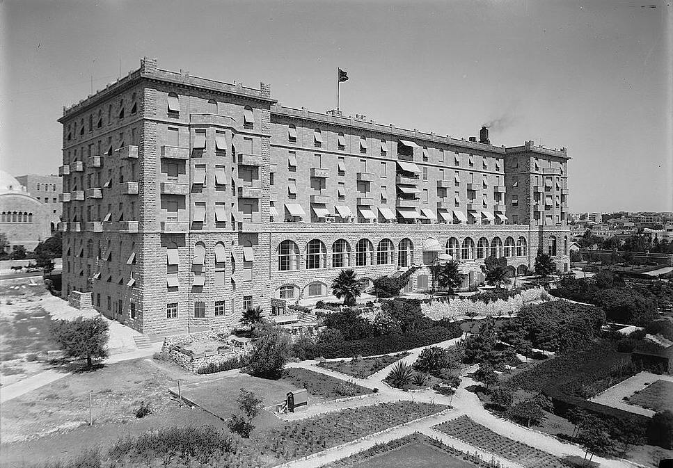 King_David_Hotel_from_garden_side._1934-1939