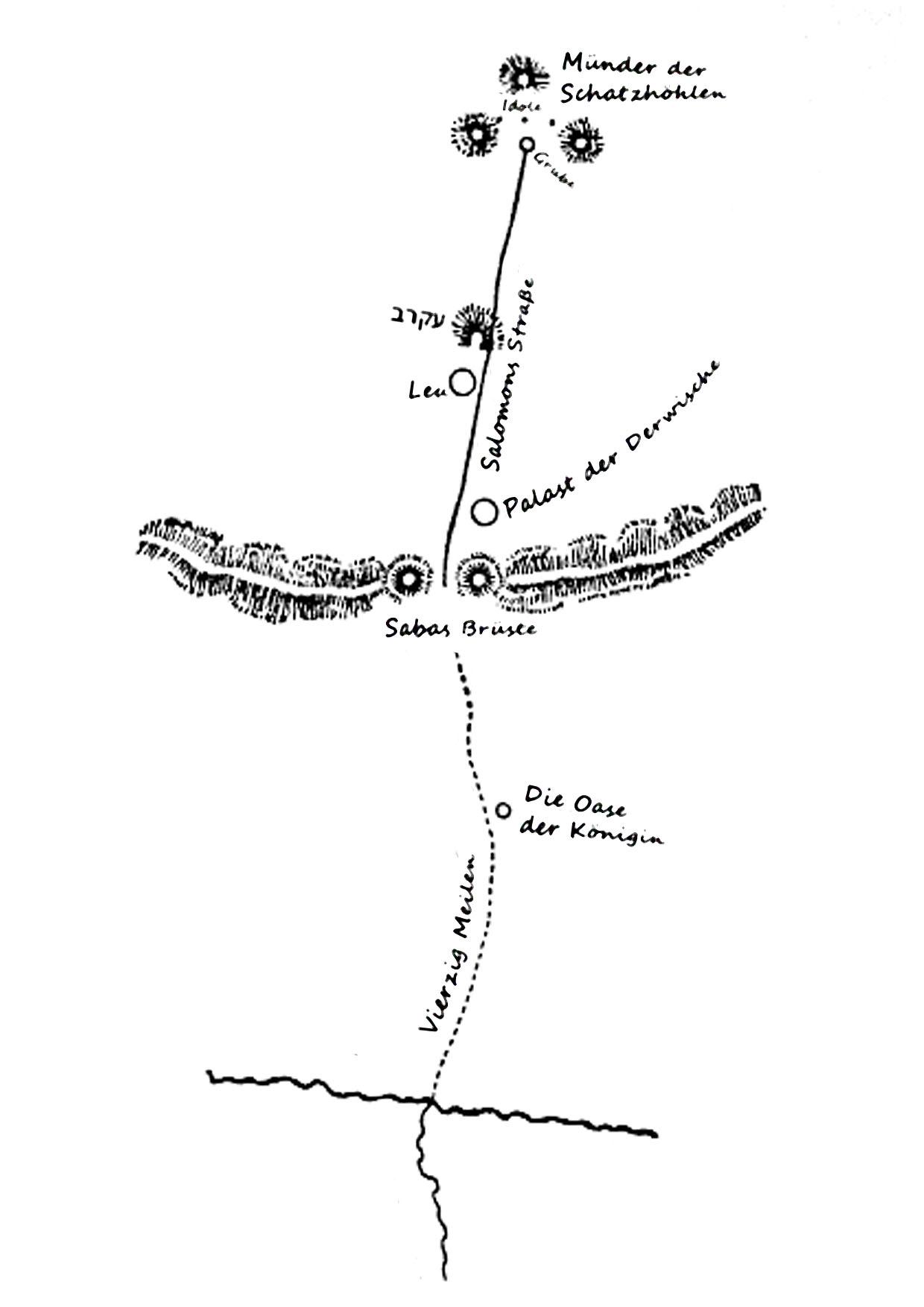 Salomons Karte Spieler