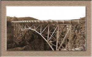 Brücke über den Deep-Fall-Canyon
