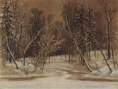 der-wald-im-winter